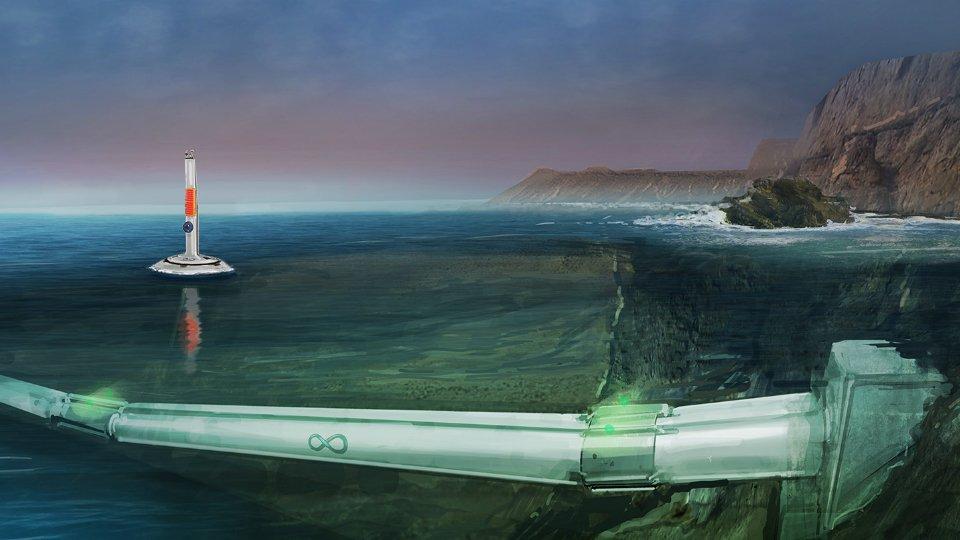 Первый в мире подводный вакуумный поезд Hyperloop запустят в Дубае (фото)