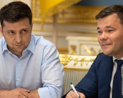 Зеленський призначив голову АП Богдана на іншу посаду