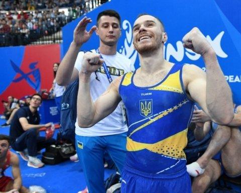 Українські гімнасти завоювали золоті медалі на Європейських Іграх