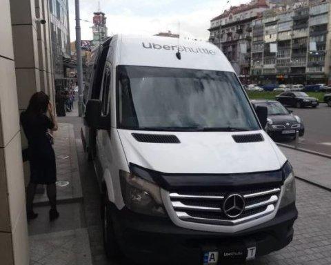 От Соломенки к Бессарабке. В Киеве открылся новый маршрут Uber Shuttle