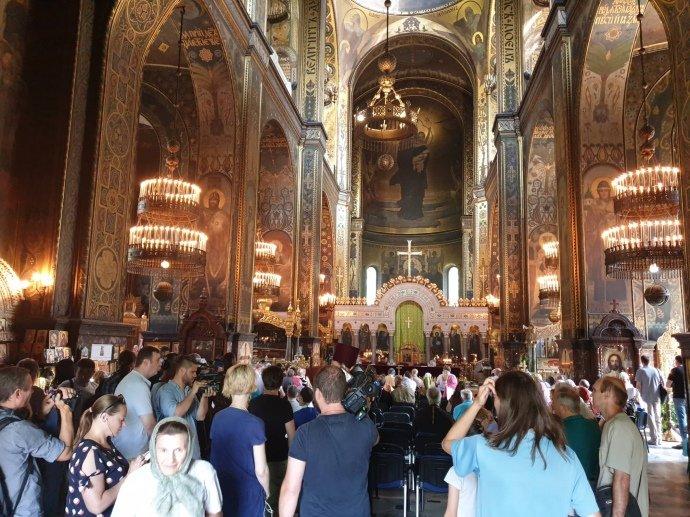 В Киеве начинается «собор Филарета»: первые фото с места