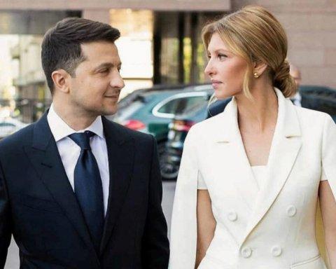 Зеленский хочет изменить законодательство ради своей жены