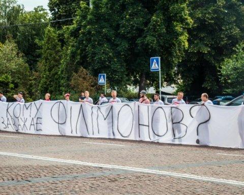 В центре Киева начался «бунт»: первые подробности и кадры с места