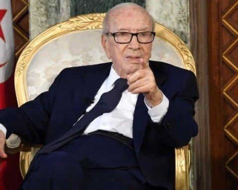 Умер президент Туниса — СМИ