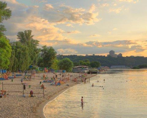 Пляжі Києва: найкращі місця для відпочинку влітку 2019