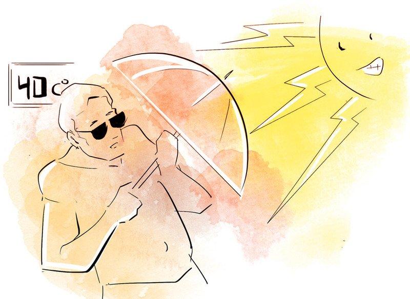 Солнечный удар или тепловой: есть ли разница, как избежать