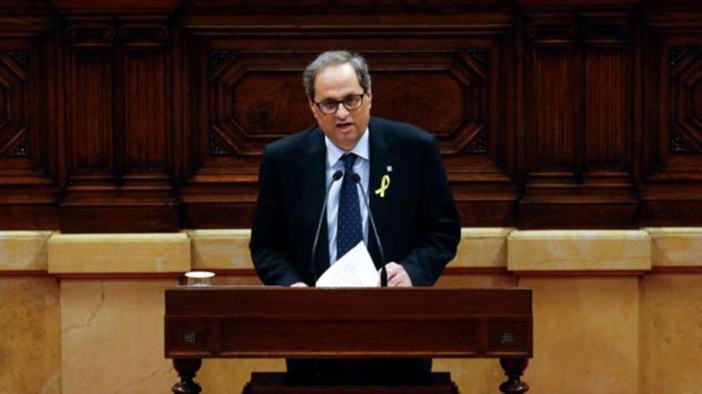 Не зупиняться: новий голова Каталонії знову торочить про референдум
