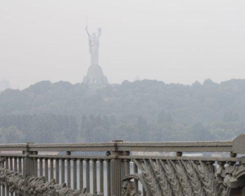 Трудно дышать: в Киеве зафиксировали отравленный воздух