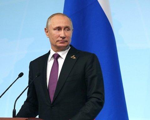 Скандал вокруг рейтинга Путина показали в «экстремальной» карикатуре: сеть взорвалась