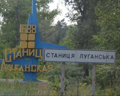 Боевики не дают возможности украинским пиротехникам разминировать мост в Станице Луганской