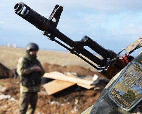 Ситуация на Донбассе: ранен один украинский военный
