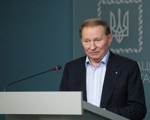 Прекращение огня в ответ на Донбассе: Кучма сделал важное уточнение
