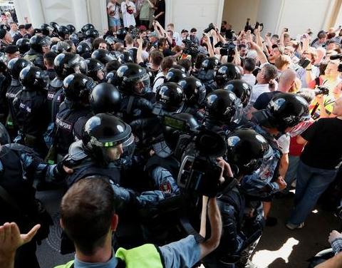 """Не доросли до Майдану: як відбувався """"російський бунт"""" в Москві"""
