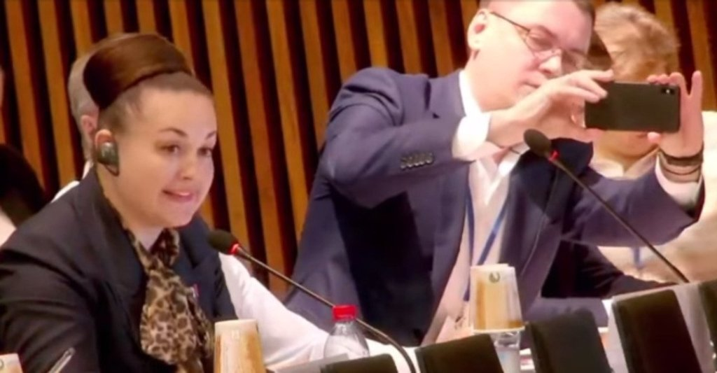 Російський депутат-астронавт розгледіла з космосу обстріли ЗСУ на Донбасі: відео маячні від делегації РФ
