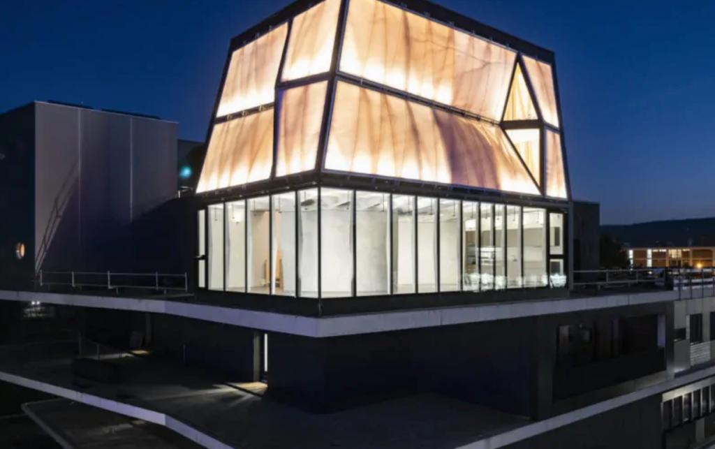 Роботы построили дом в Швейцарии