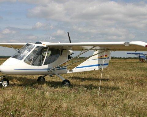 На Буковине упал пассажирский самолет: первые подробности