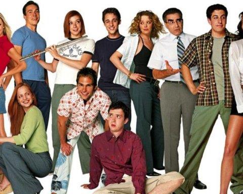 Актеры «Американского пирога» собрались вместе через 20 лет после премьеры знаменитой комедии