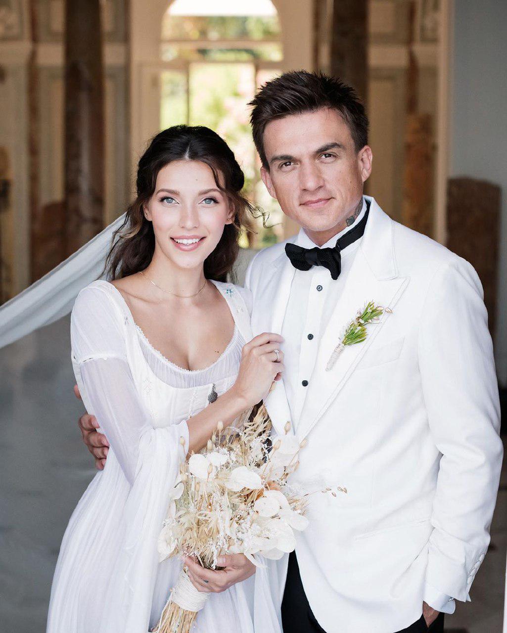 Тодоренко показала весільне вбрання, у якому виходила заміж