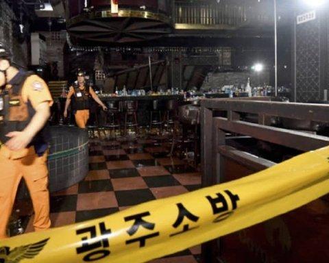 В одному з нічних клубів Кореї обвалилася стеля: постраждали відомі спортсмени