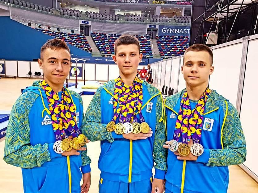 Юнацька збірна України виграла 25 медалей на Європейському Олімпійському фестивалі в Баку