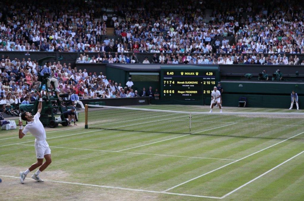 Джокович у суперматчі переміг Федерера і виграв п'ятий Вімблдон