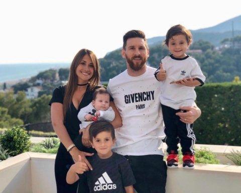 Месси с семьей отдыхает в роскошном отеле