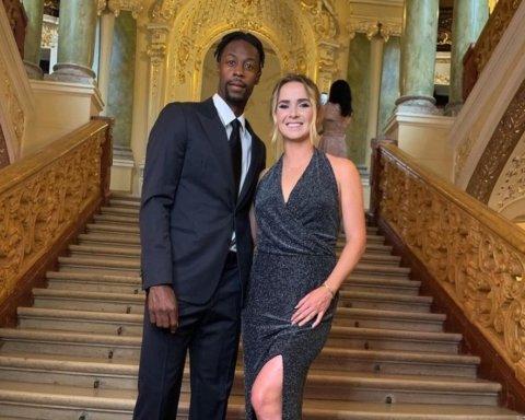 Свитолина и Монфис побывали в Одесском оперном театре на встрече с Катрин Денев