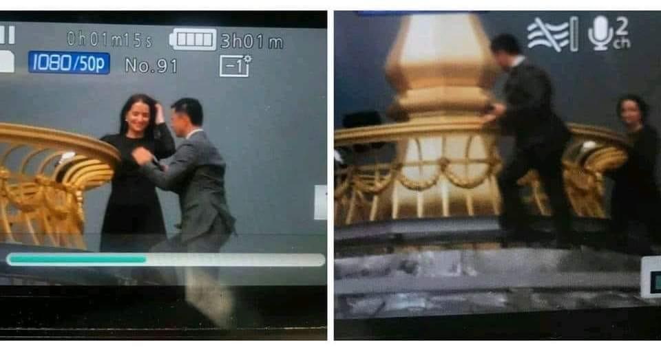 Стало відомо, хто заліз на купол  Верховної Ради у Києві