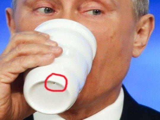 Загадковий кухоль Путіна на саміті G20: прихильники теорії змови помітили цікаву деталь