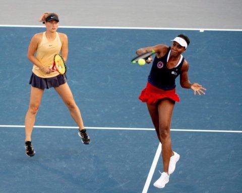 Украинка Костюк сыграла в паре с Уильямс на турнире мировых звезд тенниса