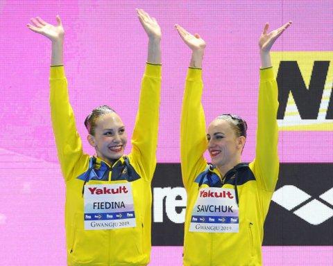 Украинские синхронистки завоевали бронзу чемпионата мира