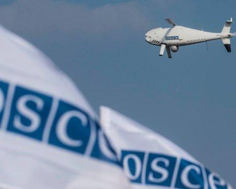 Под Луганском боевики подбили дрон ОБСЕ, но завладеть им не смогли