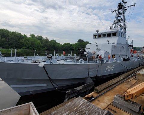 США завершили випробування першого патрульного катеру для України