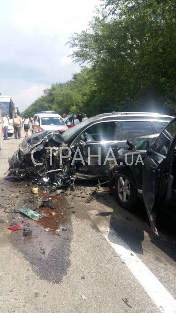 Авто з кортежу Зеленського влаштували ДТП з дітьми