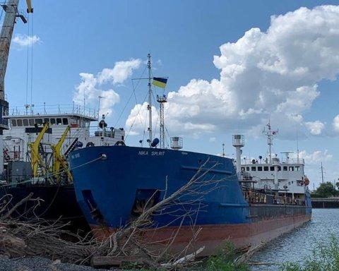 Задержание танкера РФ в Измаиле: Кремль начал угрожать
