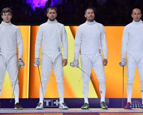 Збірна України з фехтування стала віце-чемпіоном світу