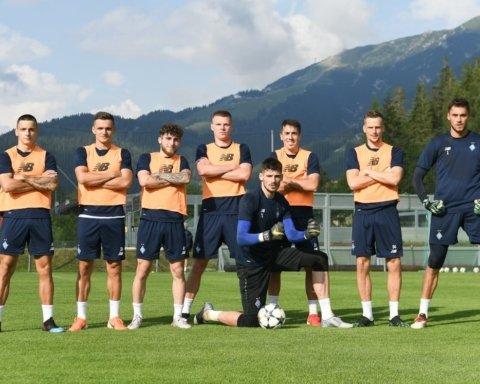 Динамо сыграло вничью с Ботошани в Австрии