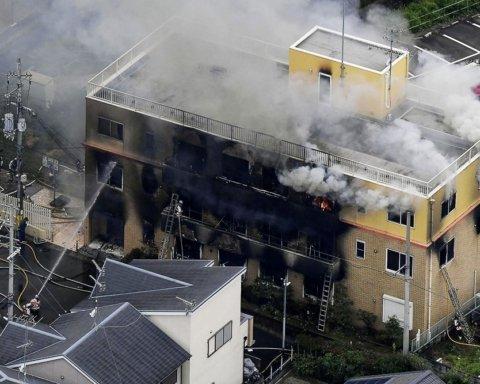 В Японии подожгли известную студию аниме, много погибших: кадры с места трагедии