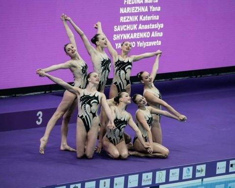 Украинские синхронистки завоевали еще одну медаль на чемпионате мира
