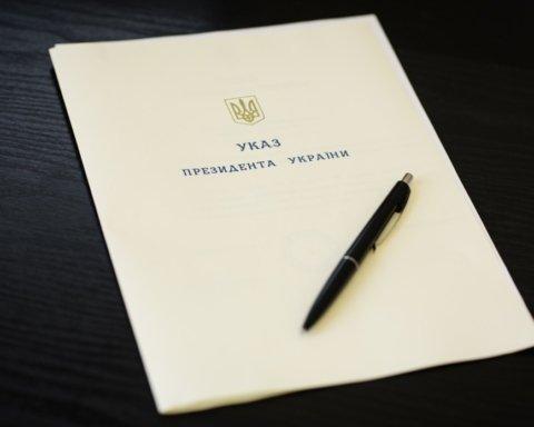 Зеленський позбавив посад двох губернаторів