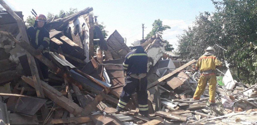 Возле Киева взорвался частный дом: фото с места смертельного ЧП