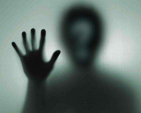 Охранник больницы снял на видео жуткое аномальное явление ночью