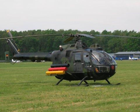 Женщина-пилот не удержала руль и разбилась на военном вертолете в Германии