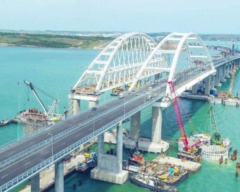 Окупанти добудували Кримський міст: подробиці