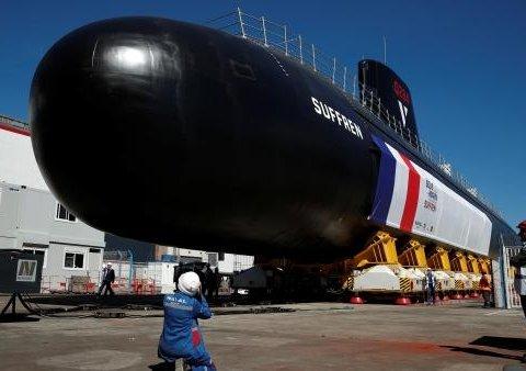 Французы впервые показали подводную лодку нового типа, которую строили 12 лет