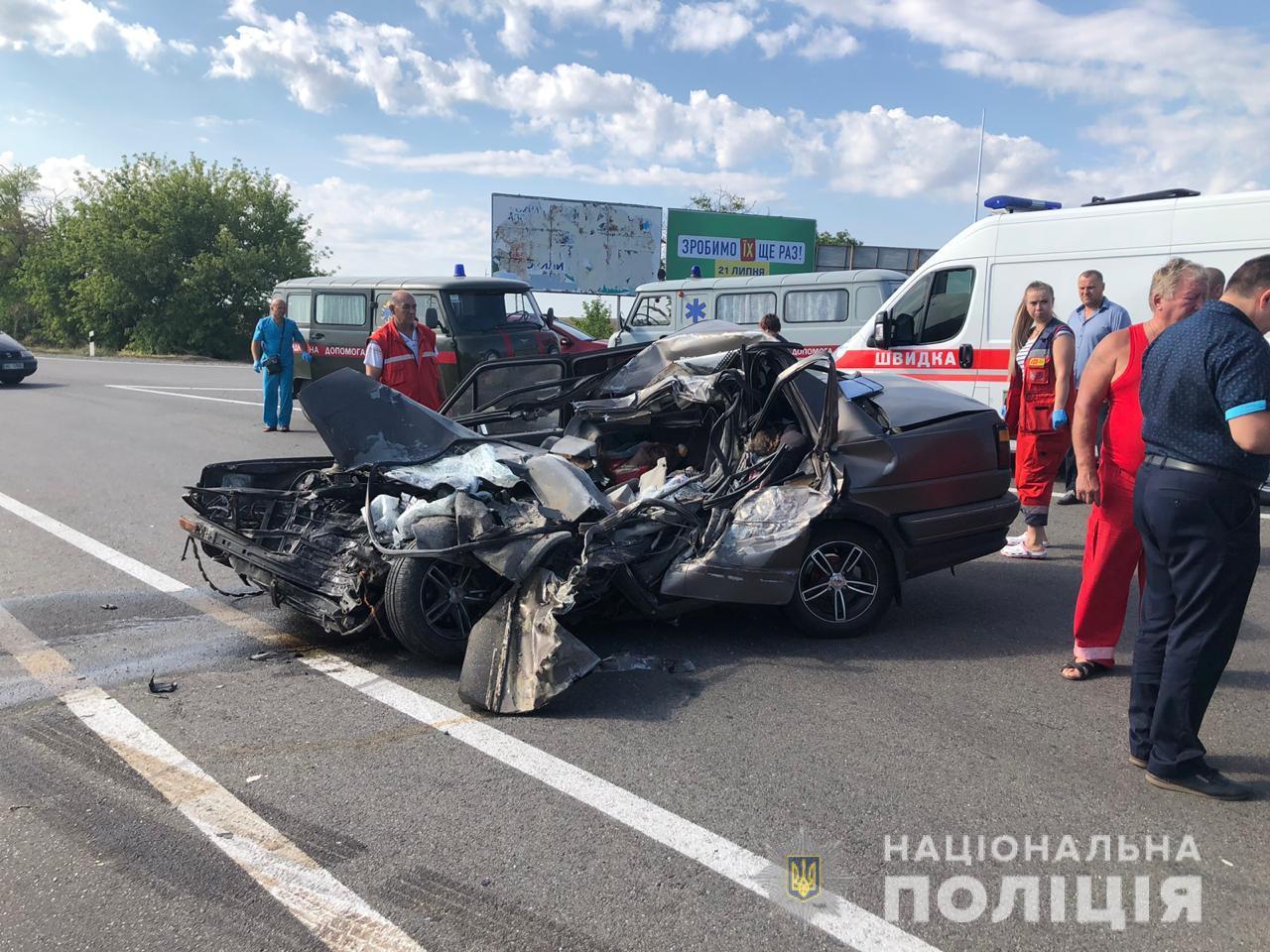Погиб ребенок: под Одессой произошло смертельное ДТП