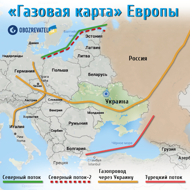 Владелец «Северного потока-2» обиделся на «дискриминацию» со стороны Евросоюза