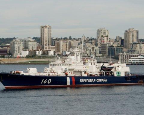 Россия задержала судно с украинскими моряками: что об этом известно