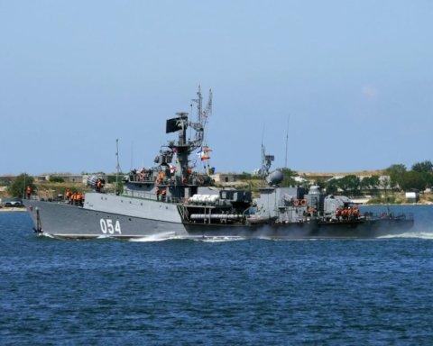 В Азовское море зашло российское военное судно: первые подробности