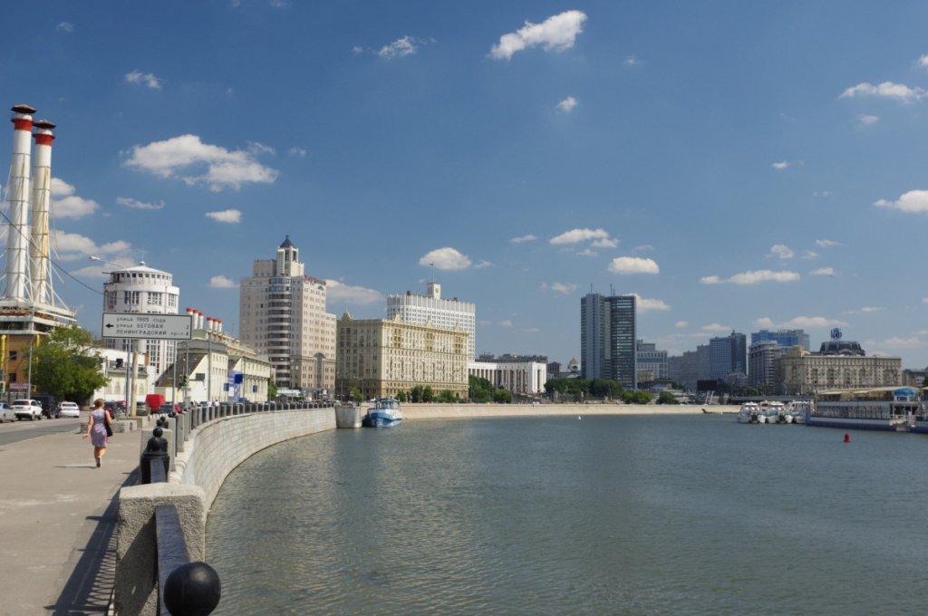 У центрі Москви сталася масштабна пожежа